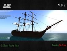 ..::[P&W]::..  Galleon Pirate Ship v8.2