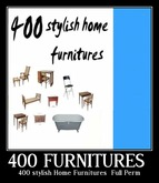 400 stylish Home Furnitures - Full Perm