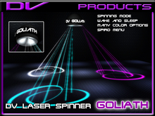 DV the Goliath laser spinner with Mesh spiro v 3.0