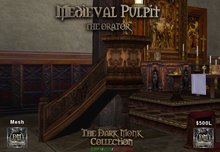 DM Medieval Pulpit - The Orator Boxed