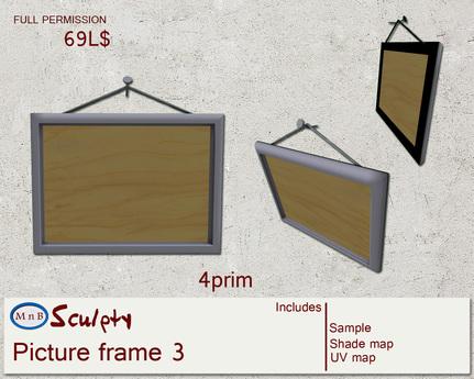 *~M`n B~* Picture Frame 3 (box)