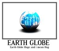 Earth Globe Huge and i mean Huge