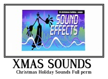 Christmas Holiday Sounds Full perm