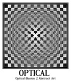 Optical illusion 2 Abstract Art
