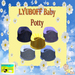 Baby Potty for LYUBOFF Baby (9 Different Nursery Colors)