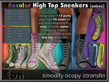 Recolor High Top Sneakers (unisex) ..:: EON ::..
