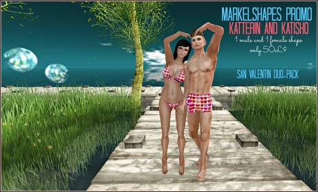 Markel Shapes ::Duo Pack Valentin::