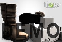 inVerse™ - London Boots 100%mesh NO RIG 5 colors DEMO