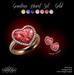 P.C; Gemstone Heart Set - Gold