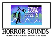 Horror environment Sounds Full perm