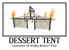 Lawrence of Arabia dessert Tent 28 prim