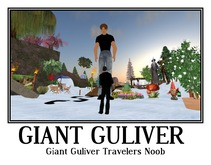 Giant Guliver Travelers Noob + Foot steps tagfantasy -