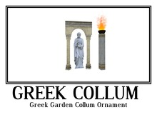 Greek Garden Collum Ornament tagfantasy