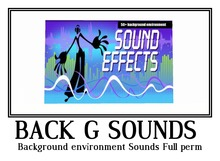 Background environment Sounds Full perm
