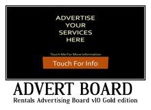 Rentals Advertising Board v1.0 (Gold edition)
