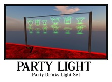 Party Drinks Light Set  - Party Mania