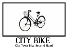 City Town Bike Second Hand - Decoration 1 prim tagfantasy -