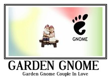 Garden Gnome Couple In Love tagfantasy