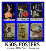 1950s posters