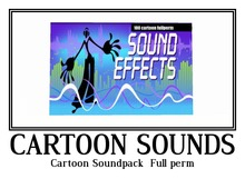 Cartoon Soundpack - Full perm