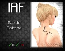 IAF Birds Tattoo (With Appliers)