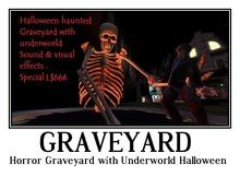 Horror Graveyard with Underworld (Halloween)