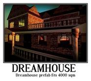 Dreamhouse prefab fits 4000 sqm