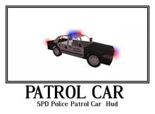SPD Police Patrol Car + Hud and Hover Mode + Forensic Team -