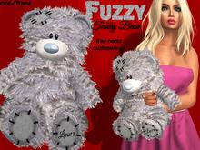 Fuzzy Teddy Bear - FAST & FREE CUSTOMIZATION !