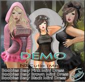 DEMO NS:: Mini Dress (Mesh)