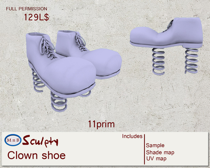 *~M`n B~* Clown shoe (box)