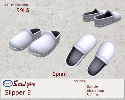 *~M`n B~* Slipper 2 FP (box)