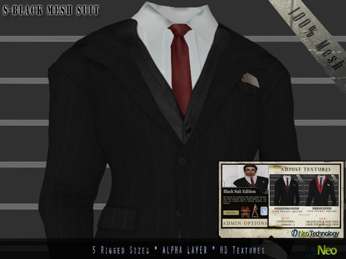 **Neo Tech** Black Edition Suit 2.2 [5 sizes,Visual HUD]  2 Day Super Sale