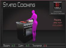 Chores House  *Stand Cooking* Copyable Poseball