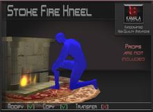 Chores House  *Stoke Fire Kneel* Copyable Poseball