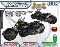 ** SnT ** CLoud Motorbike , Final fantasy 7 motorcycle