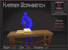 Chores Trades  *Hammer Workbench* Transferable Poseball
