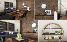 The Loft - Dunham Living Room