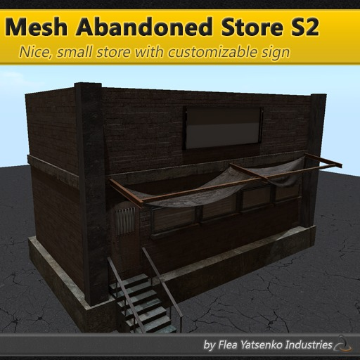 [FYI] Small Mesh Abandoned Industrial Ghetto Grunge Store S2 1.0.1
