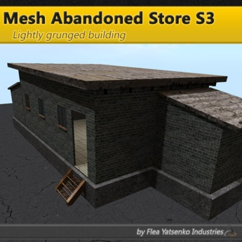 [FYI] Small Mesh Abandoned Industrial Ghetto Grunge Building S3