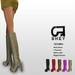 SHEY - Acasia Mesh Boots