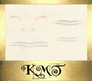 .:::K,M,T:::.Skin Creator Forehead Wrinkle & Highlight StarterZ