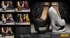 PROMO PRICE .: SUPERBIA :.  -18 COLOR (V2) -  Mesh shoes Full definition & script 1NNOVAT1ON Fashion Department