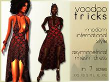":vt: Mesh Asymmetrical Dress #4 ""Arabia"""