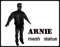 Arnie mesh statue 11 prims
