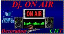 DECORATION ON AIR DJ