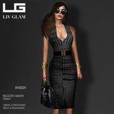 [LIV-Glam]WINTER-2012-Anikin Bodycon Dress Hud
