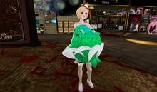 dolpin pillowpet (green)