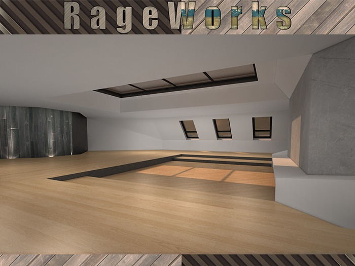 Studio8 - 100% Mesh - 19 Prims (RageWorks)