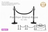 :neigeux: Partition Stand-Rope No.1[BK]